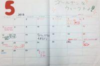 寄せ書き 日記 2018-5