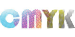 CMYK オフセット印刷の基本4色