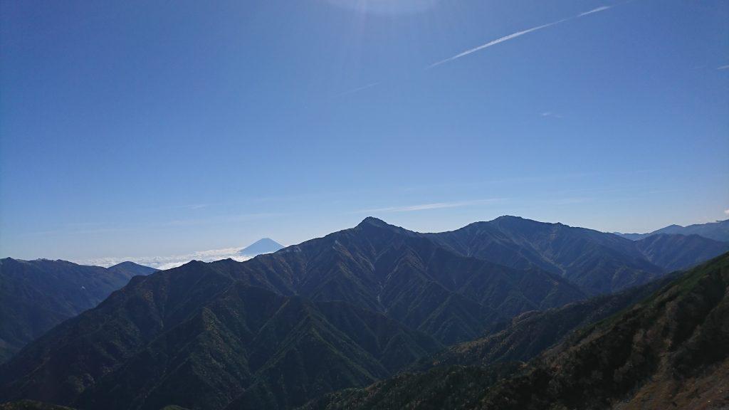 富士山・北岳・間ノ岳