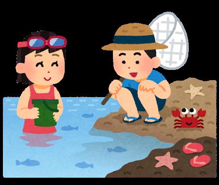 夏 海 海の日 夏休み