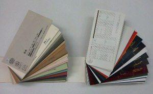 紙・クロスの見本帳