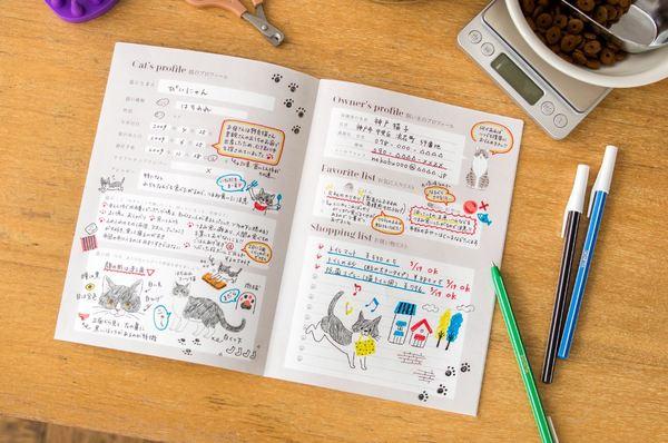 愛猫健康手帳 プロフィール例