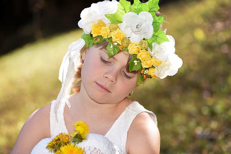 夏至祭 花冠